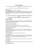Quy chuẩn Kỹ thuật Quốc gia QCVN 1:2015/BKHCN