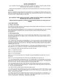 Quy chuẩn kỹ thuật Quốc gia QCVN 14:2015/BGTVT