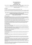 Tiêu chuẩn Quốc gia TCVN 8769:2011