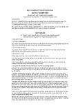Quy chuẩn kỹ thuật Quốc gia QCVN 17:2008/BTNMT