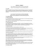 Quy chuẩn Kỹ thuật Quốc gia QCVN 01:2015/BCT