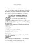 Tiêu chuẩn Quốc gia TCVN 9187:2012