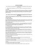 Quy chuẩn Kỹ thuật Quốc gia QCVN 05:2015/BCT