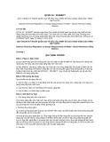 Quy chuẩn kỹ thuật Quốc gia QCVN 10:2015/BCT