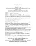 Tiêu chuẩn Quốc gia TCVN 6149-1:2007