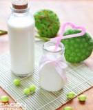 Cách nấu sữa hạt
