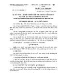 Quyết định số 192 /2003/QĐ-BBCVT