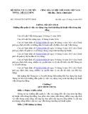 Thông tư liên tịch số 15/2016/TTLT-BTTTT-BXD