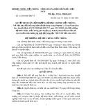 Quyết định số 42/2006/QĐ-BBCVT