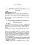Tiêu chuẩn Quốc gia TCVN 3171:2011