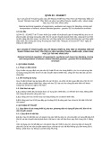 Quy chuẩn kỹ thuật Quốc gia QCVN 03:2014/BCT