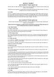 Quy chuẩn kỹ thuật Quốc gia QCVN 02:2013/BCT