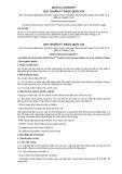 Quy chuẩn kỹ thuật Quốc gia QCVN 11-3:2012/BYT