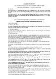 Quy chuẩn kỹ thuật Quốc gia QCVN 69:2013/BTTTT