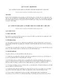 Quy chuẩn kỹ thuật Quốc gia QCVN 12-MT:2015/BTNMT