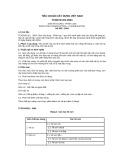 Tiêu chuẩn xây dựng Việt Nam TCXDVN 221:2004