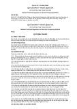 Quy chuẩn kỹ thuật Quốc gia QCVN 57:2014/BTNMT