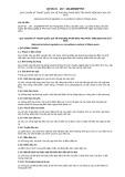 Quy chuẩn kỹ thuật Quốc gia QCVN 01-167:2014/BNNPTNT