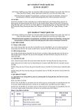 Quy chuẩn kỹ thuật Quốc gia QCVN 09:2012/BCT