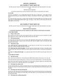Quy chuẩn kỹ thuật quốc gia QCVN 46:2012/BGTVT