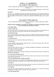 Quy chuẩn kỹ thuật Quốc gia QCVN 01-111:2012/BNNPTNT