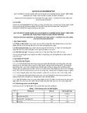 Quy chuẩn kỹ thuật Quốc gia QCVN 02-22:2015/BNNPTNT
