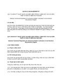 Quy chuẩn kỹ thuật Quốc gia QCVN 01-149:2014/BNNPTNT