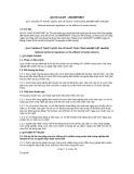 Quy chuẩn kỹ thuật Quốc gia QCVN 13-MT:2015/BTNMT