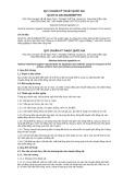 Quy chuẩn kỹ thuật Quốc gia QCVN 01-100:2012/BNNPTNT
