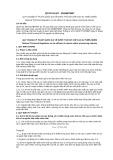 Quy chuẩn kỹ thuật Quốc gia QCVN 01-MT:2015/BTNMT