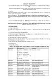 Quy chuẩn kỹ thuật Quốc gia QCVN 73:2013/BTTTT