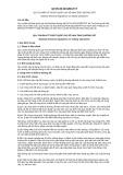 Quy chuẩn kỹ thuật Quốc gia QCVN 08:2015/BGTVT