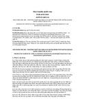 Tiêu chuẩn Quốc gia TCVN 6701:2011