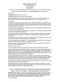 Tiêu chuẩn Quốc gia TCVN 2229:2013