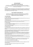 Quy chuẩn kỹ thuật Quốc gia QCVN 03:2013/BCT