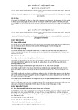 Quy chuẩn kỹ thuật Quốc gia QCVN 48:2012/BTNMT