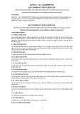 Quy chuẩn kỹ thuật Quốc gia QCVN 01-119:2012/BNNPTNT