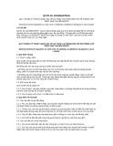 Quy chuẩn kỹ thuật quốc gia QCVN 19:2014/BLDTBXH