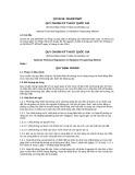 Quy chuẩn kỹ thuật Quốc gia QCVN 59:2014/BTNMT
