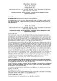 Tiêu chuẩn Quốc gia TCVN 10541:2014