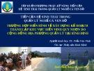 Bài thuyết trình Tiếp cận hệ sinh thái trong quản lý nghề cá ven bờ