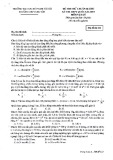 16 đề thi thử môn Vật lý