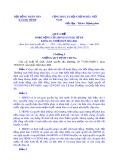 Quy chế hoạt động của HDND xã Đăk Tờ Re khóa IX, nhiệm kỳ 2016 - 2021
