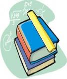 Sáng kiến kinh nghiệm: Phương pháp giải toán hóa học bằng định luật bảo toàn nguyên tố