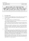 Tiêu chuẩn ngành 14 TCN 137-2005