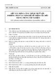 Tiêu chuẩn ngành 14 TCN 139-2005