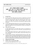 Tiêu chuẩn ngành 10 TCN 334-1998