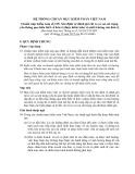Hệ thống chuẩn mực kiểm toán Việt Nam - Chuẩn mực kiểm toán số 315: Xác định và đánh giá rủi ro có sai sót trọng yếu thông qua hiểu biết về đơn vị được kiểm toán và môi trường của đơn vị