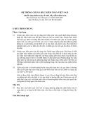 Hệ thống chuẩn mực kiểm toán Việt Nam - Chuẩn mực kiểm toán số 530: Lấy mẫu kiểm toán