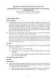 Hệ thống chuẩn mực kiểm toán Việt Nam - Chuẩn mực kiểm toán số 501: Bằng chứng kiểm toán đối với các khoản mục và sự kiện đặc biệt